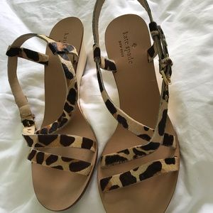 New Kate Spade Wedges
